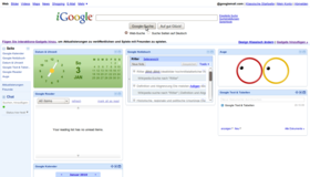 iGoogle-Screenshot