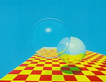 220px-Spheres_and_Checkerboard_-_Turner_