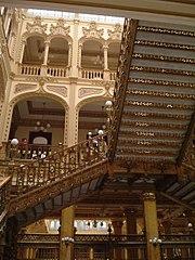 Das 1902 bis 1907 errichtete Hauptgebäude der Post in Mexiko-Stadt