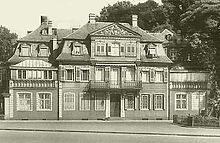 Bethmanns Gartenhaus, in dem sich Napoleon 1813 einquartierte (Quelle: Wikimedia)