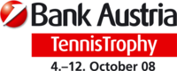 "Logo des Turniers ""Bank Austria TennisTrophy 2008"""