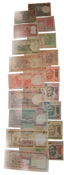 Indische Rupie Wikipedia