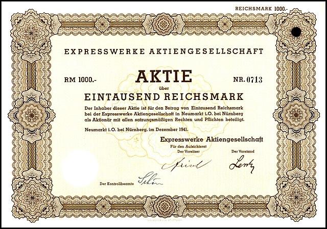 http://upload.wikimedia.org/wikipedia/de/thumb/1/1c/Expresswerke_AG_1941_1000_RM.jpg/640px-Expresswerke_AG_1941_1000_RM.jpg