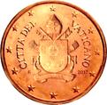 2 cents Vatican City 5th series