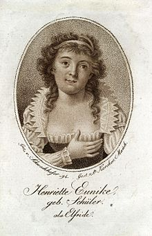 Henriette Eunike als Elfride (1794) (Quelle: Wikimedia)