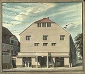 Altes Theater am Gänsemarkt in Hamburg bis 1827 (Quelle: Wikimedia)