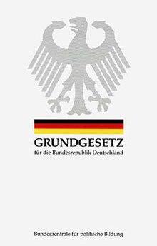 deutsches grundgesetz artikel 1