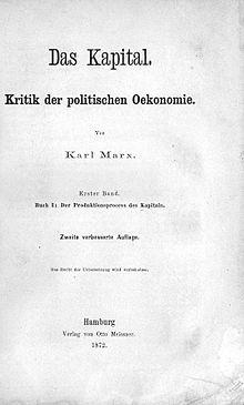 Wikizero das kapital for Marx hamburg