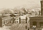 Kaiserliche Werft um 1894