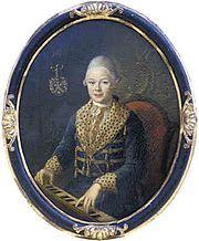 Karl von Moll als 13-Jähriger (Quelle: Wikimedia)