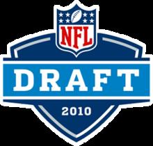 Logo des NFL-Drafts 2010