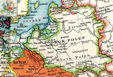 Personalunion Sachsen-Polen, jeweils grün-weiß umrandet (Quelle: Wikimedia)