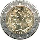2 Euro commemorative coin 2011 Monaco.jpg