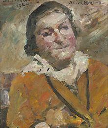 alice berend schriftstellerin und schwagerin von lovis corinth 1924