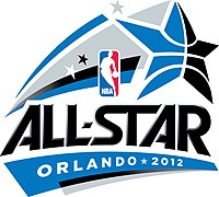 Logo des NBA All-Star Game 2012