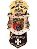 """Jahrgangsabzeichen """"Liechtenstein"""" der Theresianischen Militärakademie in Wiener Neustadt (Quelle: Wikimedia)"""