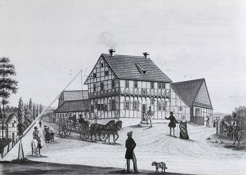 Datei:Braunschweig Rueninger Turm von Nordosten (H.C.Vellguth 1846).jpg