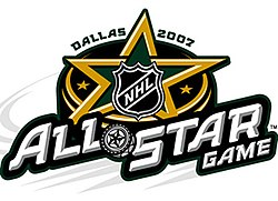 Das offizielle Logo des NHL All-Star Games 2007 in Dallas