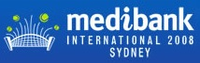 "Logo des Turniers ""Medibank International 2008"""