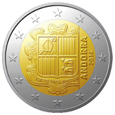 Andorra 2 Euro