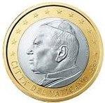 1 Euro Vatican 1st series