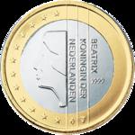 1 euro Netherlands