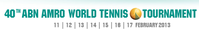 "Logo des Turniers ""ABN AMRO World Tennis Tournament 2013"""