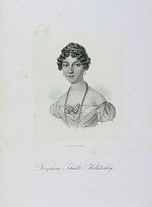 Josephine Schultz-Killitschky, Lithographie, um 1820 (Quelle: Wikimedia)