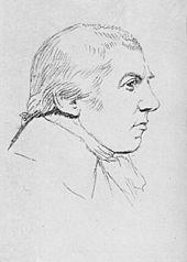 Carl Friedrich Zelter, Zeichnung 1832 (Quelle: Wikimedia)