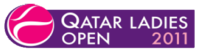 "Logo des Turniers ""Qatar Ladies Open 2011"""