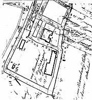 Rittergut Preut als zweiteilige Wasserburg