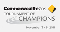 "Logo des Turniers ""Commonwealth Bank Tournament of Champions 2011"""