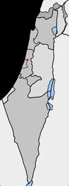 Lage von Herzlia