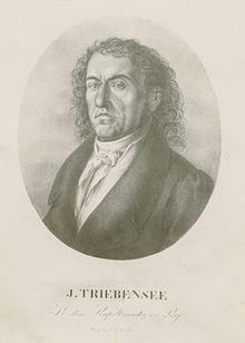 Joseph Triebensee, Lithographie, vermutlich von Anton Gareis, um 1820 (Quelle: Wikimedia)