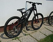Freeride-Bike Kraftstoff F1