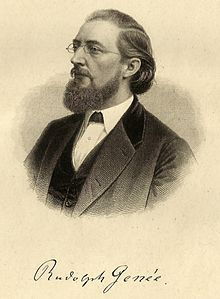 Rudolph Genée (Quelle: Wikimedia)