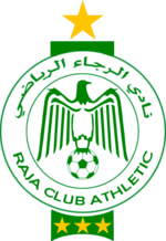 Vereinswappen des Raja Club Athletic de Casablanca