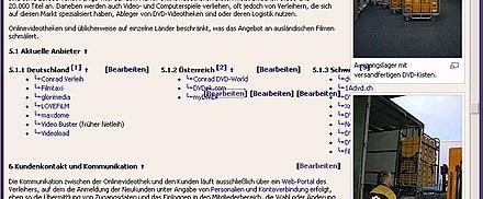 Wikipediaspaltensatz Wikipedia