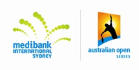 "Logo des Turniers ""Medibank International 2009"""