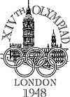 Logo Olympische Spiele 1948