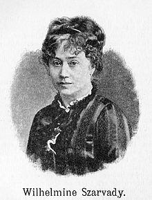 Wilhelmine Clauss-Szarvady (Quelle: Wikimedia)