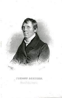 Johann Schickh, Lithographie von Josef Kriehuber, 1835 (Quelle: Wikimedia)