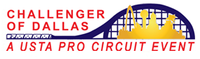 "Logo des Turniers ""Challenger of Dallas 2013"""