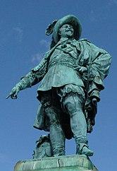 Statue of Gustav II Adolf in Gothenburg