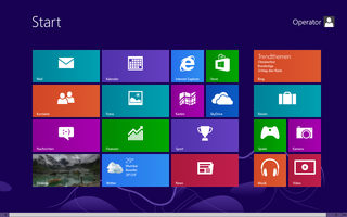 Windows 8 - die neue Metroansicht