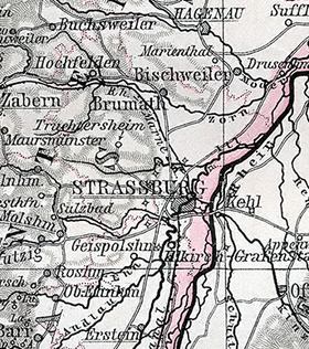 Jüdische Gemeinde - Kolbsheim (Elsass)