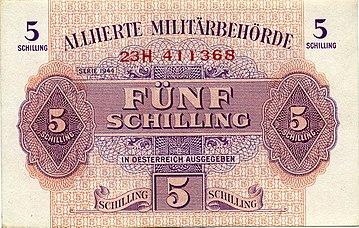 österreichischer Schilling Wikiwand
