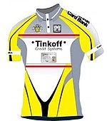 Trikot Tinkoff Credit Systems