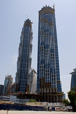 Jw marriott marquis hotel dubai wikipedia for K porte inn hotel dubai
