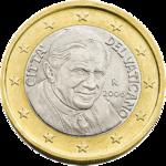 1 Euro Vatican 3rd series